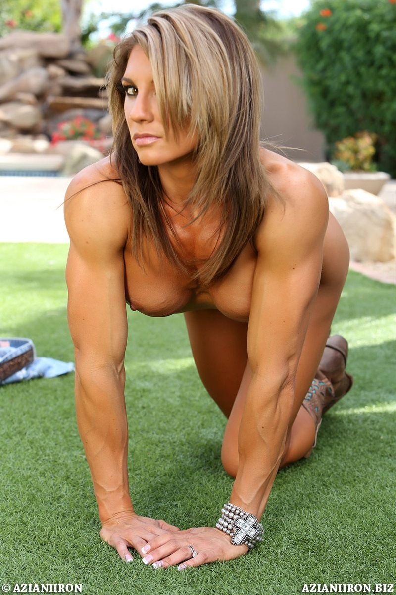 Muscle nude marie abby