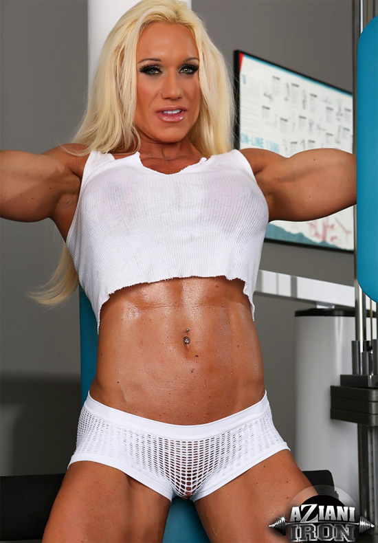 Pornstars turned fitness chicks #3